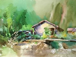昌化清凉峰写生作品2